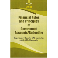 FINANCIAL RULES & PRINCIPLE OF GOVT. ACCOUNTS/BUDGETING PC-8